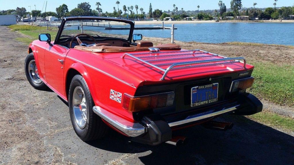 1974 Triumph Tr 6 For Sale