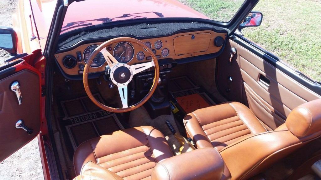 1974 Triumph TR 6