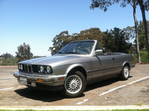 1987 BMW 325i E30 Convertible for sale