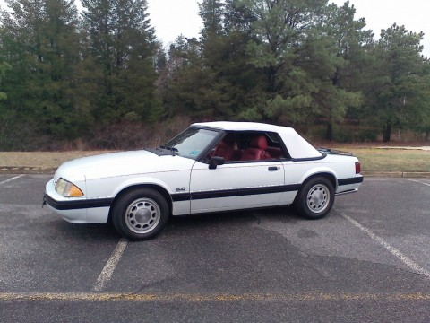 1989 Ford Mustang LX Convertible for sale