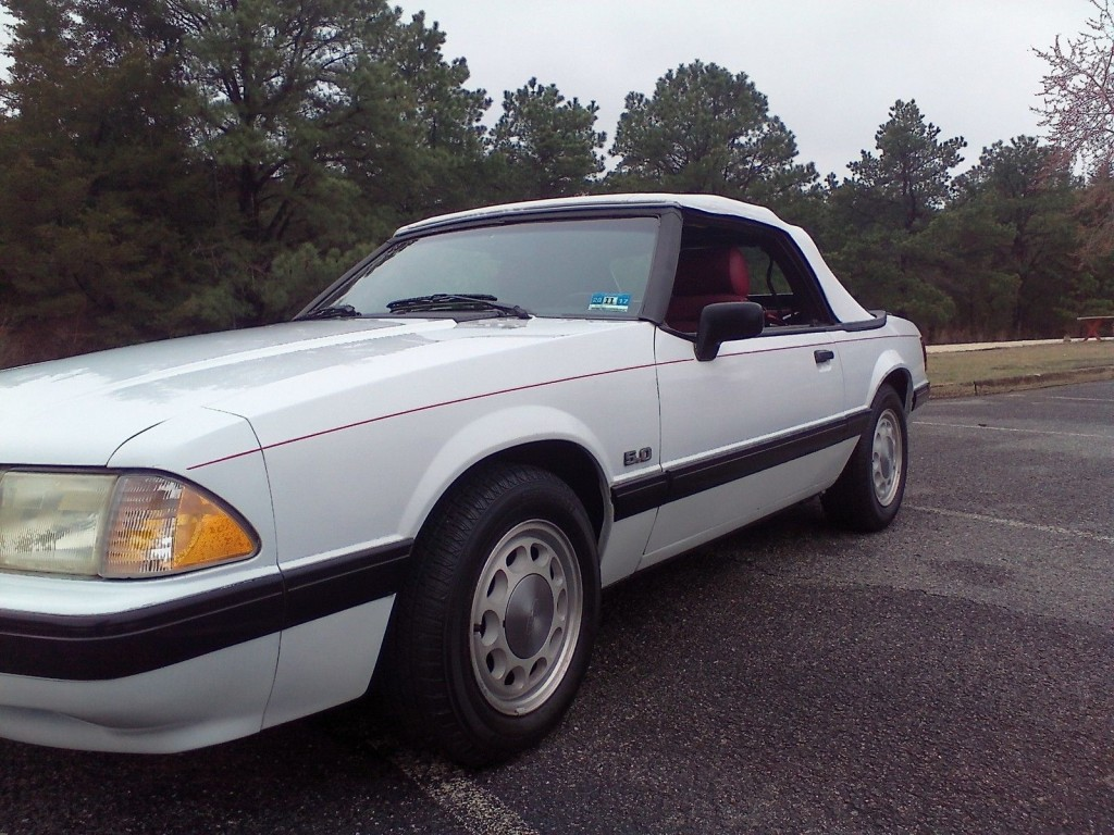 1989 ford mustang lx convertible for sale. Black Bedroom Furniture Sets. Home Design Ideas