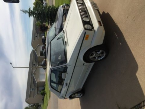 1989 Volkswagen Cabrio Special Edition white for sale