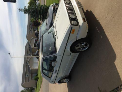 1989 Volkswagen Cabrio Special Edition white