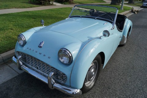 1961 Triumph TR3A Roadster for sale