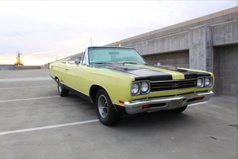 1969 Plymouth GTX Convertible for sale