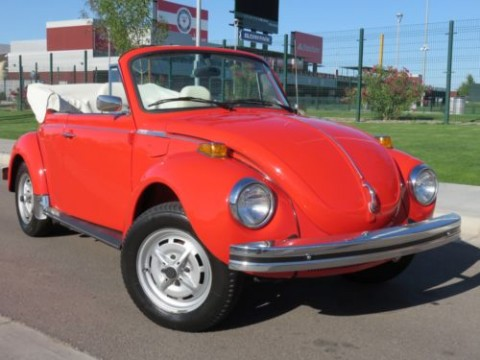 1979 Volkswagen Super Beetle Convertible for sale