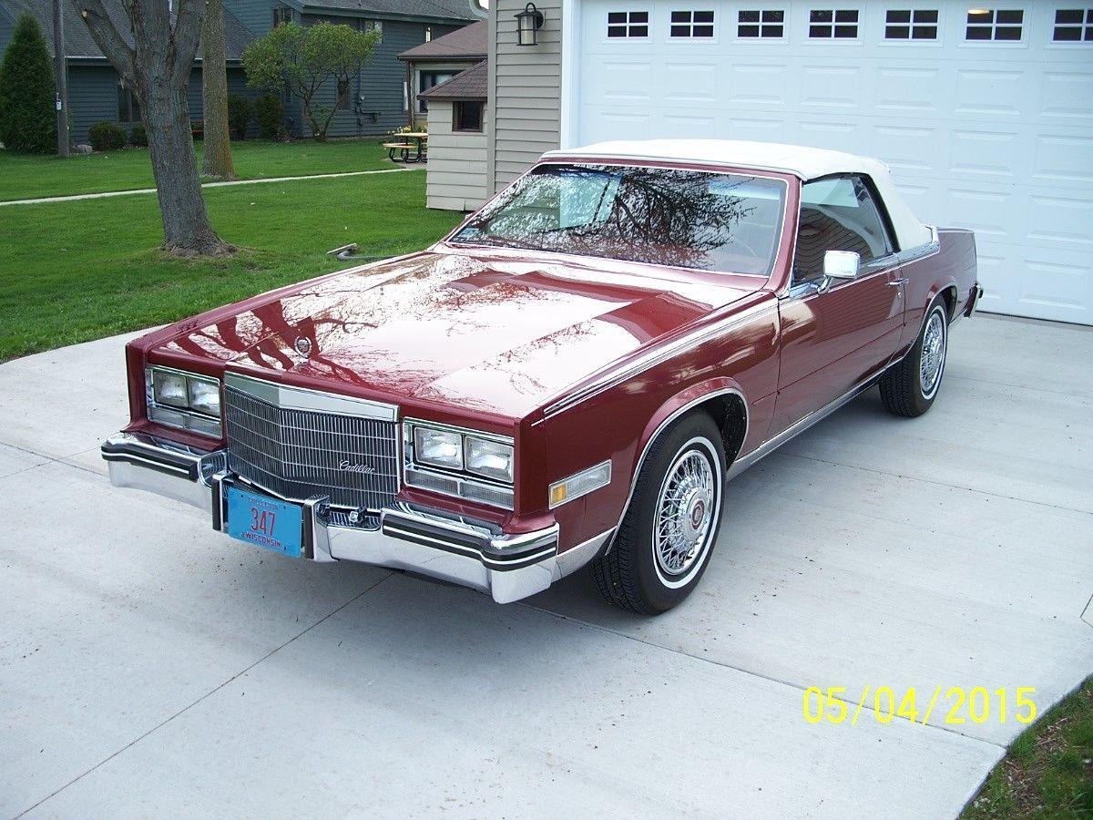 1985 Eldorado Biarritz >> 1985 Cadillac Eldorado Biarritz Convertible 2 Door 4.1L for sale
