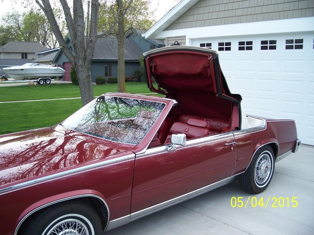 1985 cadillac eldorado biarritz convertible 2 door 4 1l for sale. Black Bedroom Furniture Sets. Home Design Ideas