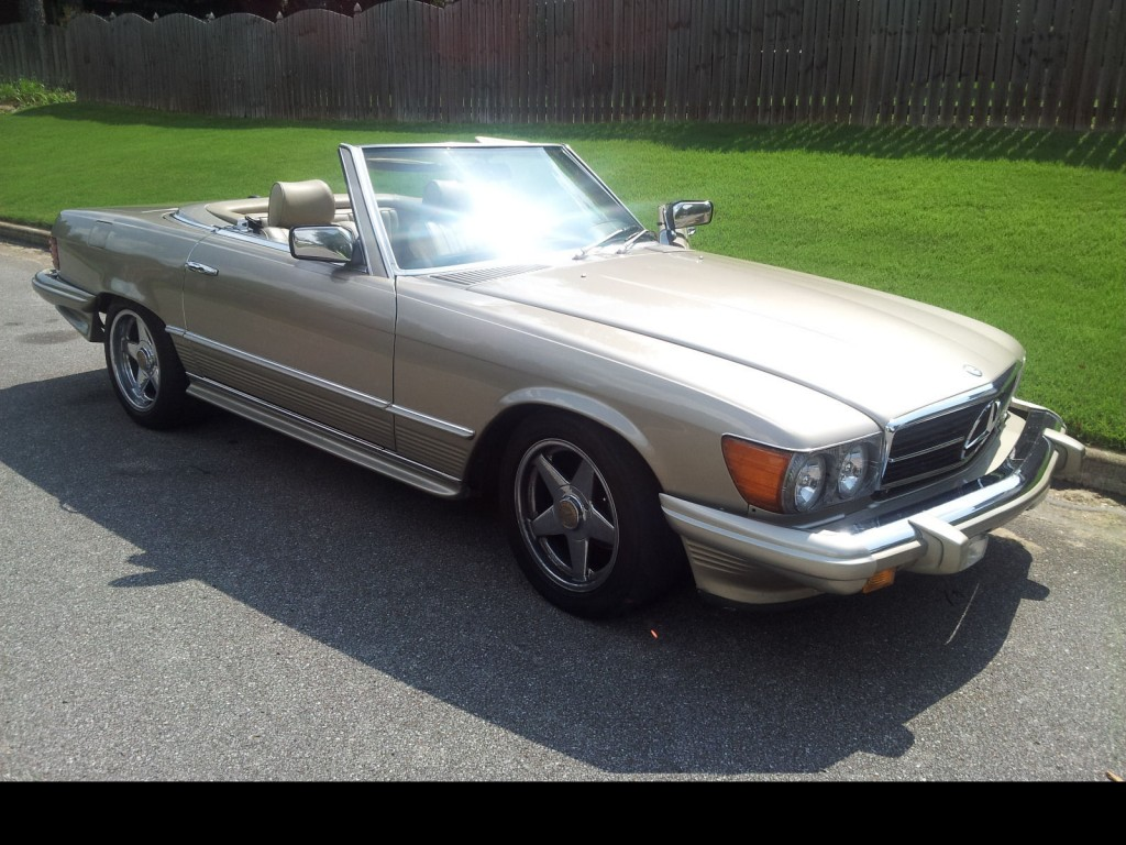 1985 mercedes benz 380 sl roadster for sale for Mercedes benz sl convertible