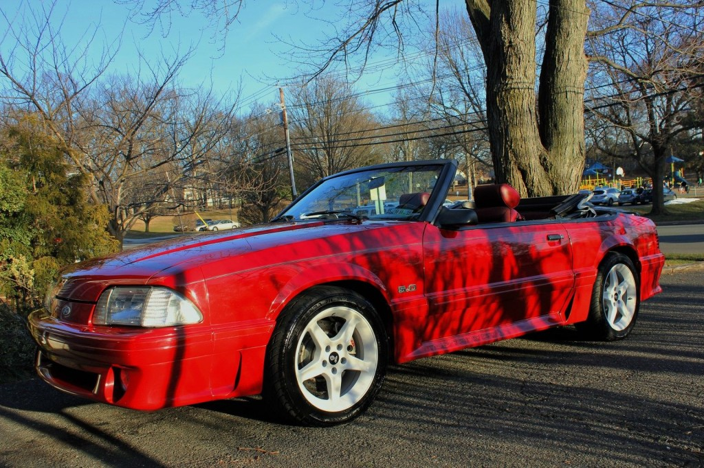 1987 Ford Mustang Gt Convertible For Sale