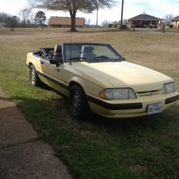 1989 Ford Mustang LX 5.0 Convertible for sale