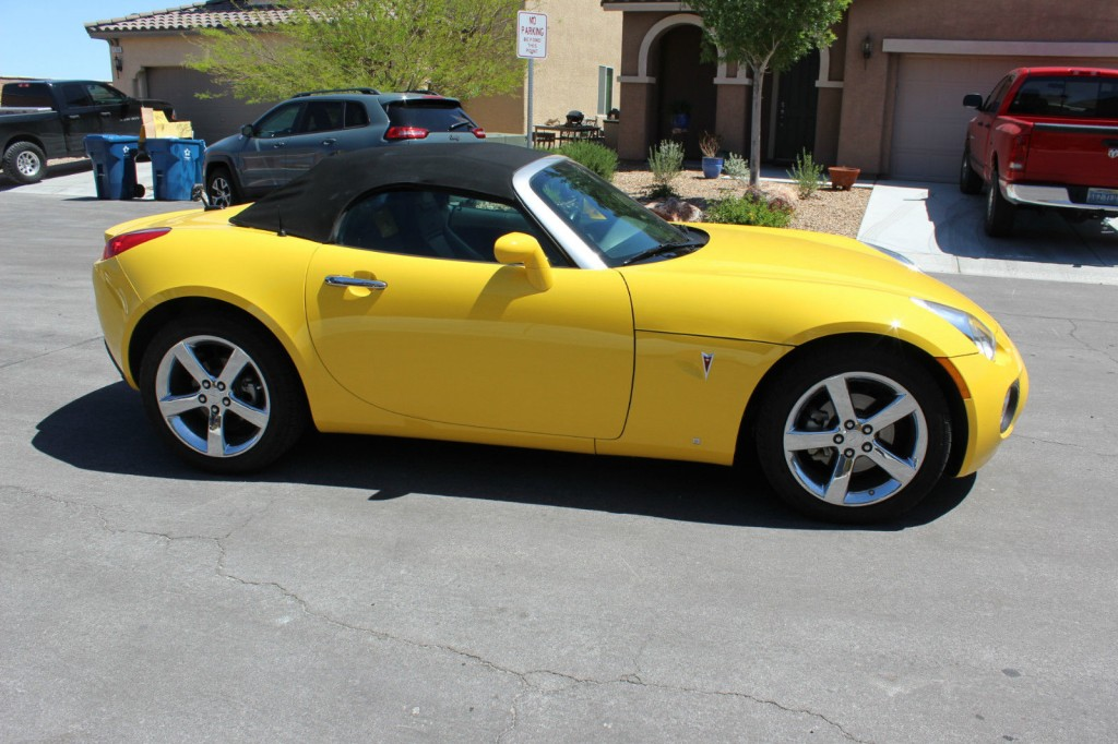 2008 pontiac solstice gxp turbo for sale. Black Bedroom Furniture Sets. Home Design Ideas