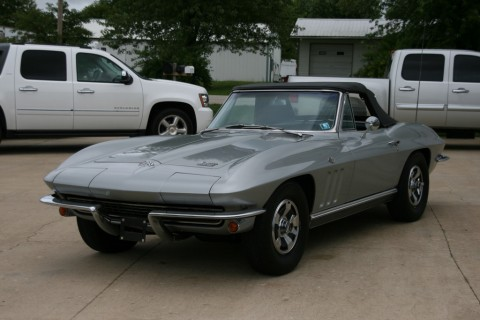 1966 Chevrolet Corvette Stingray Convertible for sale