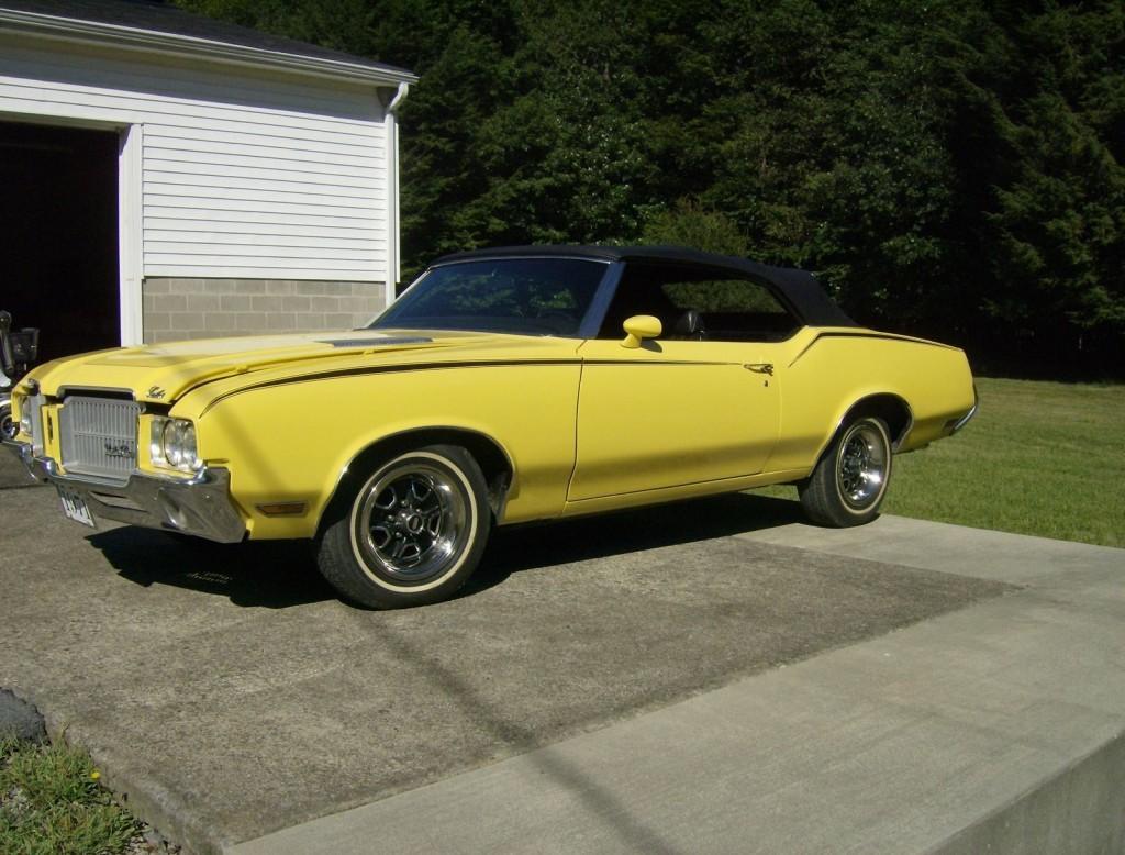 1971 Oldsmobile Cutlass Supreme Convertible