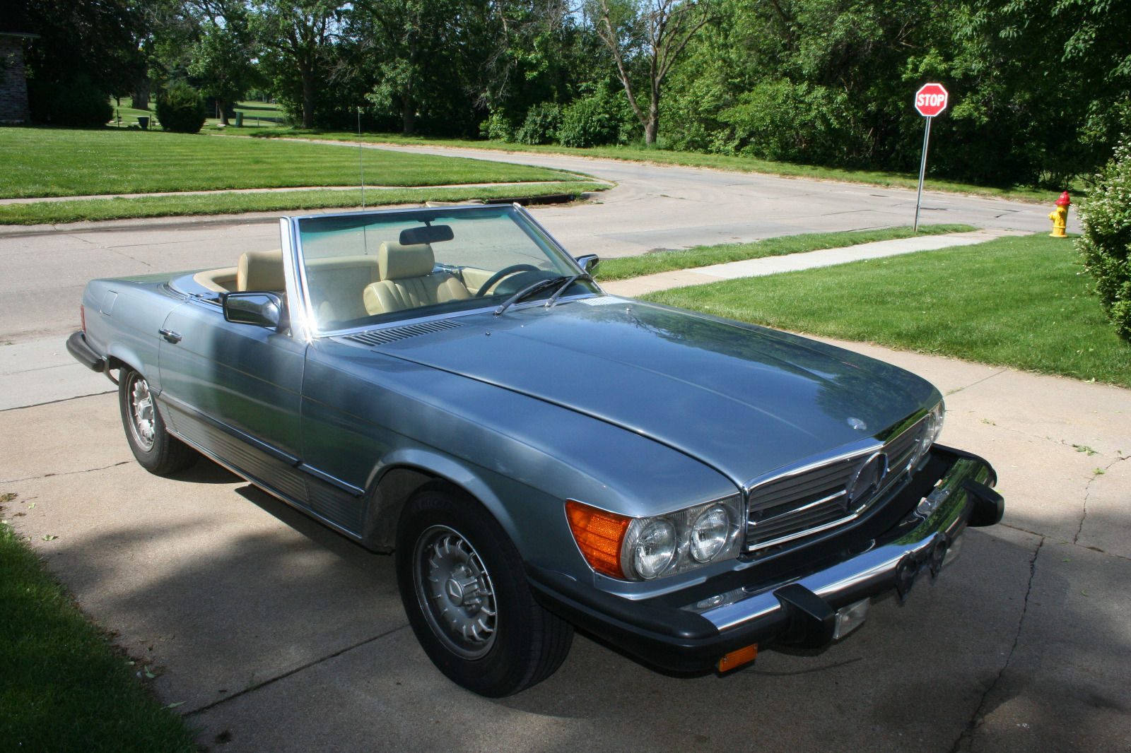 1980 mercedes benz 450sl convertible for sale for Benz mercedes for sale