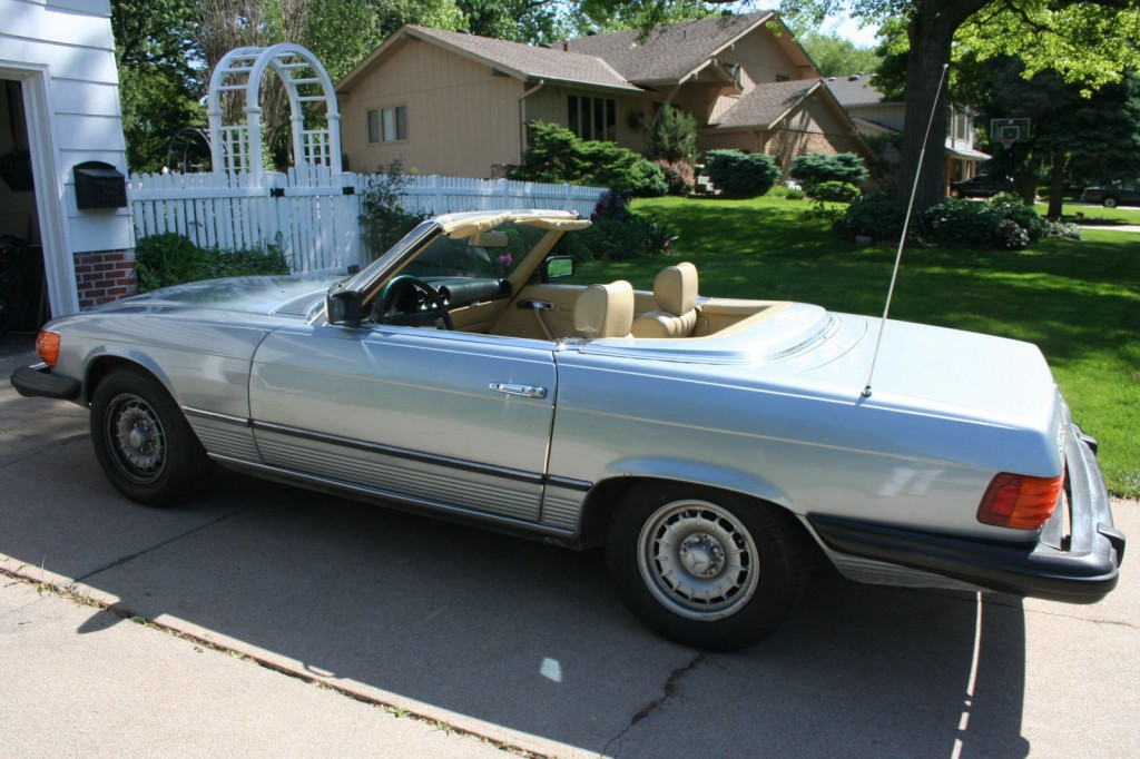 1980 Mercedes Benz 450SL Convertible