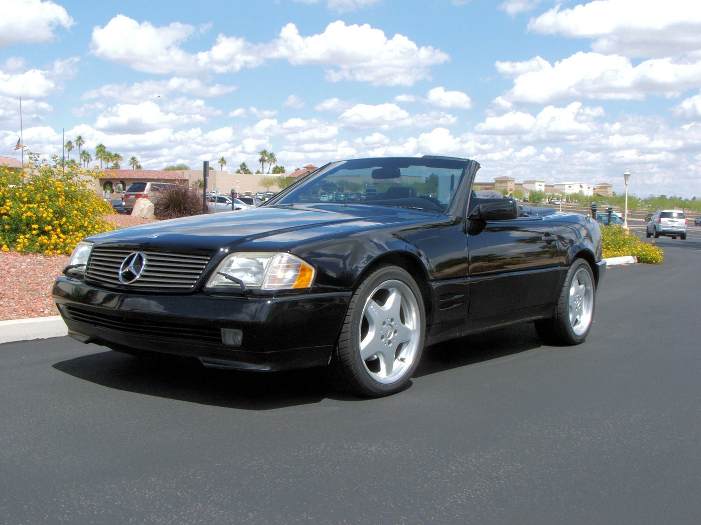 1994 mercedes benz 500sl convertible for sale. Black Bedroom Furniture Sets. Home Design Ideas
