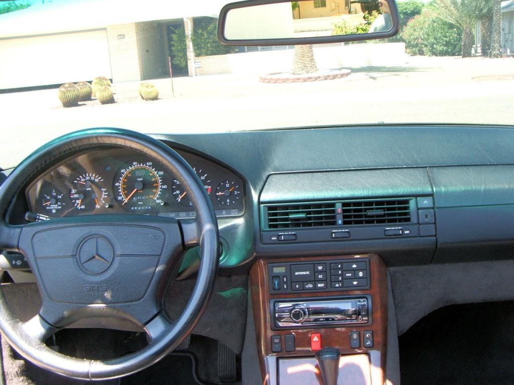1994 Mercedes Benz 500SL Convertible