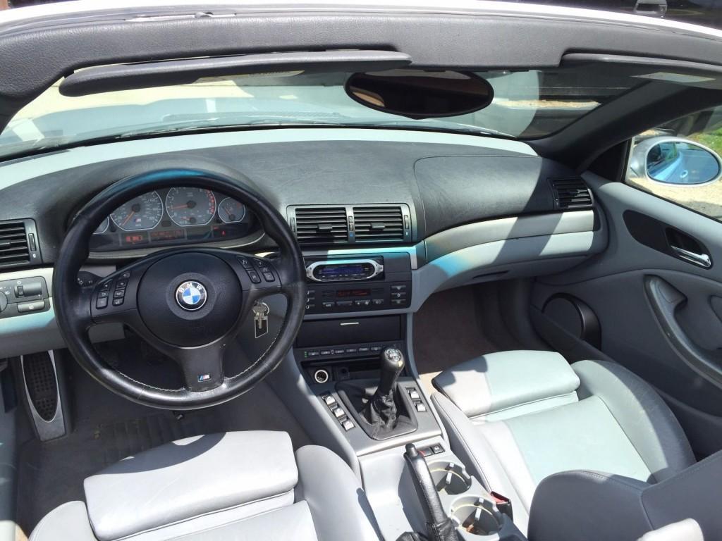 2002 BMW M3 E46 Convertible