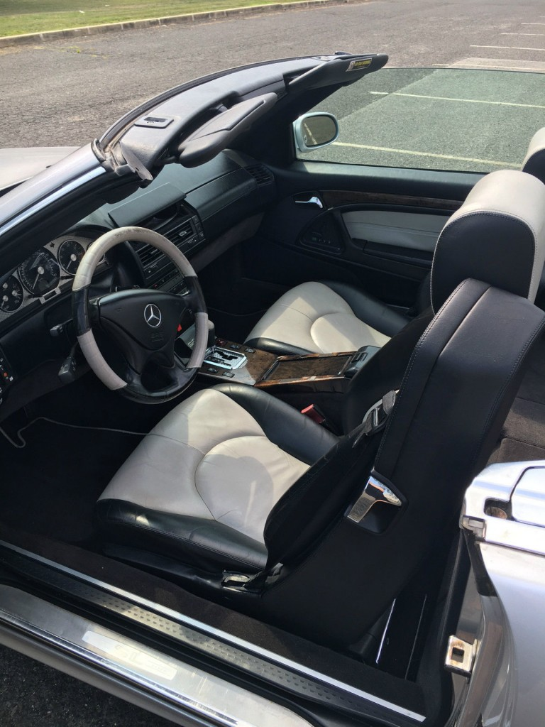 2002 Mercedes Benz SL500 Convertible