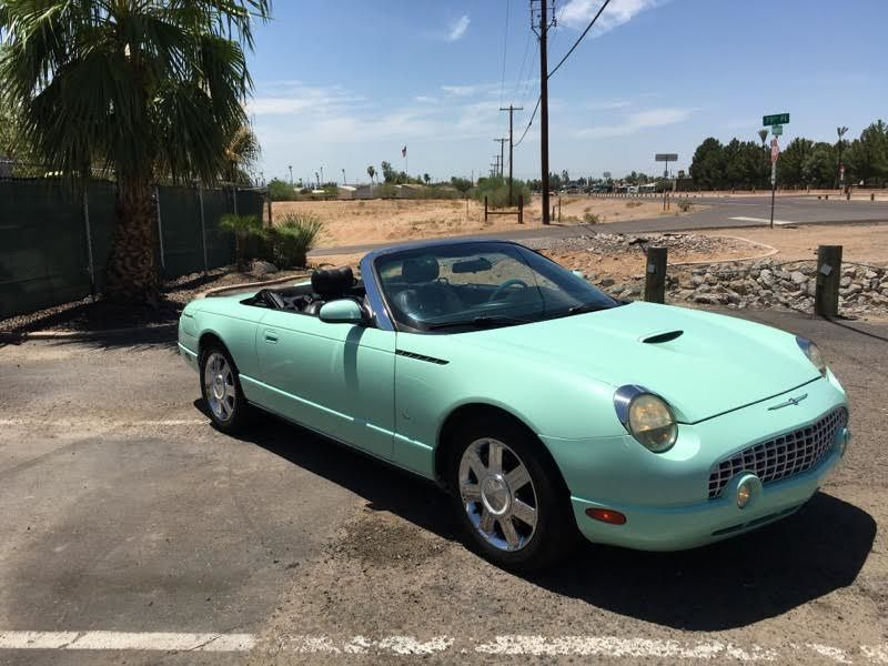 2004 ford thunderbird convertible for sale. Black Bedroom Furniture Sets. Home Design Ideas