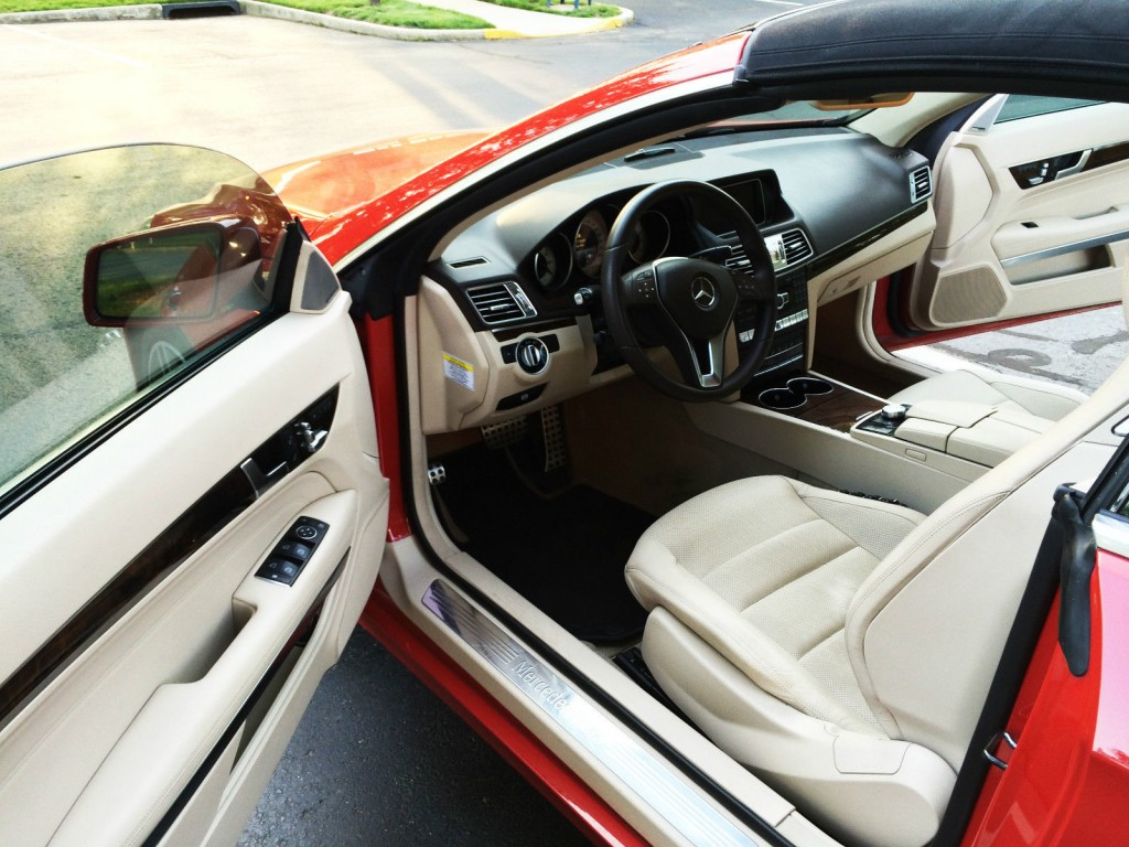 2014 Mercedes Benz E350 Convertible