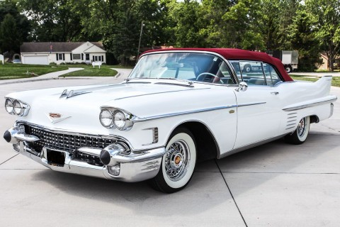 1958 Cadillac 62 Series Convertible for sale