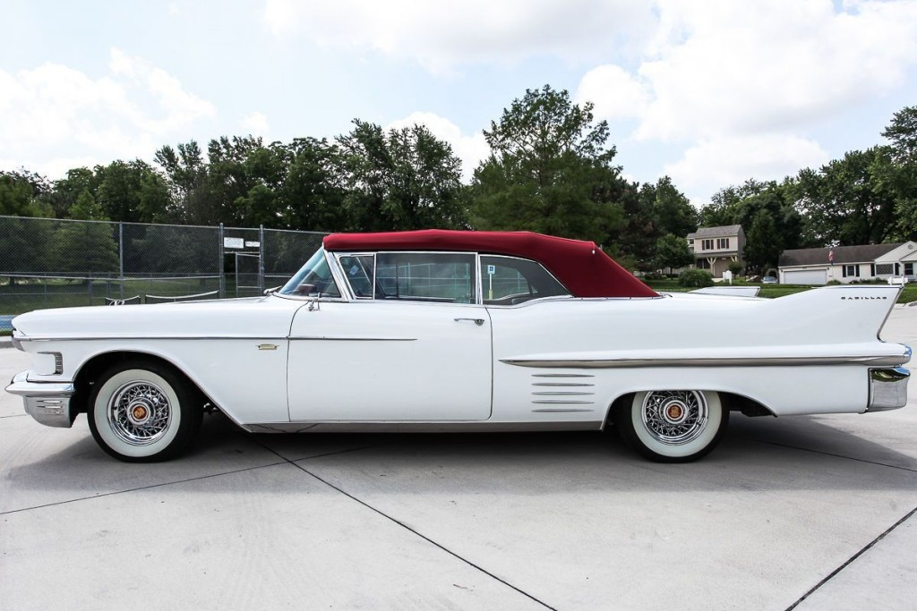 1958 Cadillac 62 Series Convertible
