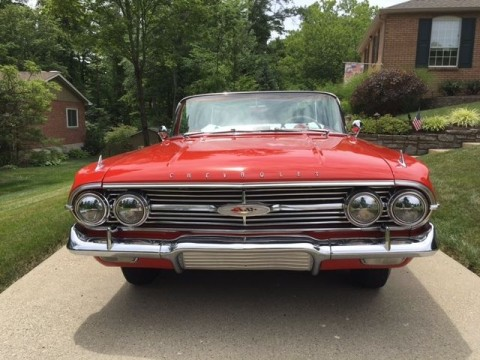 1960 Chevrolet Impala Convertible for sale