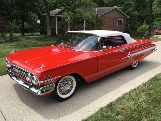 1960 chevrolet impala convertible for sale. Black Bedroom Furniture Sets. Home Design Ideas