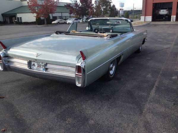 1963 cadillac deville convertible for sale. Black Bedroom Furniture Sets. Home Design Ideas