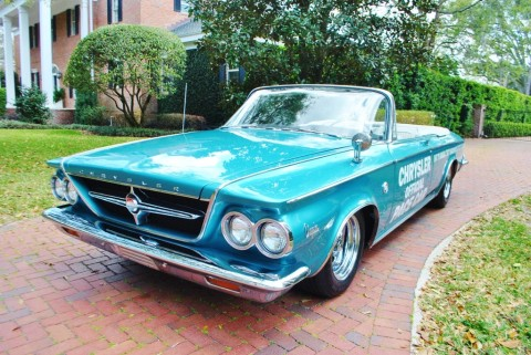 1963 Chrysler 300 Pace Setter Indianapolis 500 Pace Car Convertible for sale