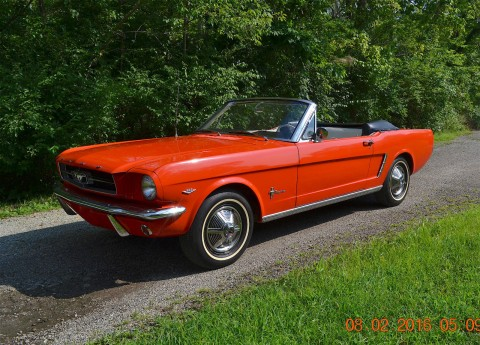 1966 ford mustang convertible convertibles for sale. Black Bedroom Furniture Sets. Home Design Ideas