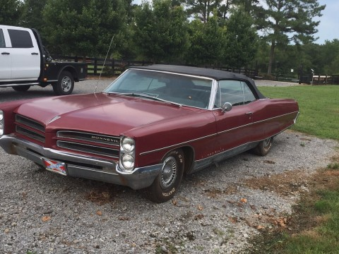 1966 Pontiac Bonneville Convertible for sale