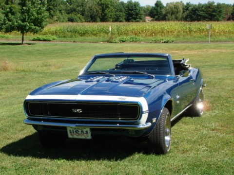 1968 Chevrolet Camaro RS/SS Convertible for sale