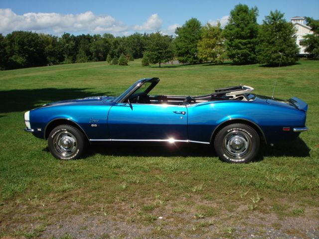 1968 chevrolet camaro rs ss convertible for sale in wethersfield