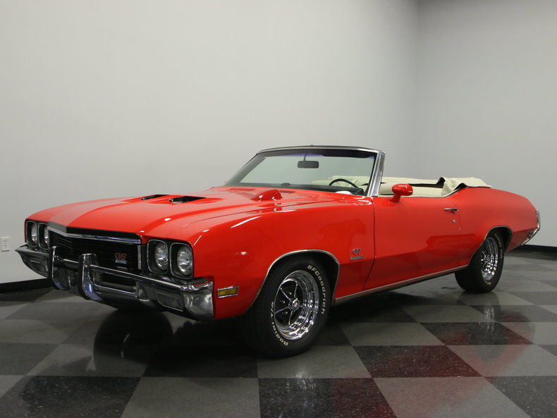 1972 Buick Gs 455 Convertible For Sale