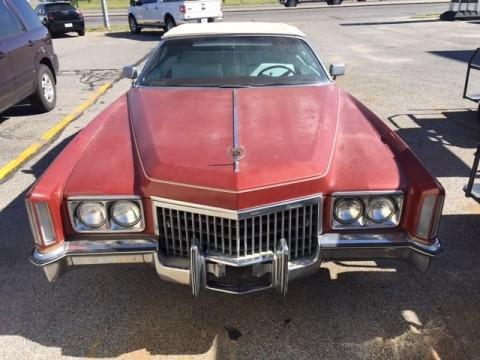 1972 Cadillac Eldorado Convertible for sale