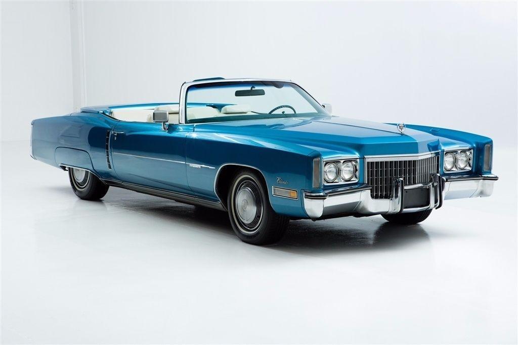 2016 Cadillac Convertible >> 1972 Cadillac Eldorado Convertible for sale