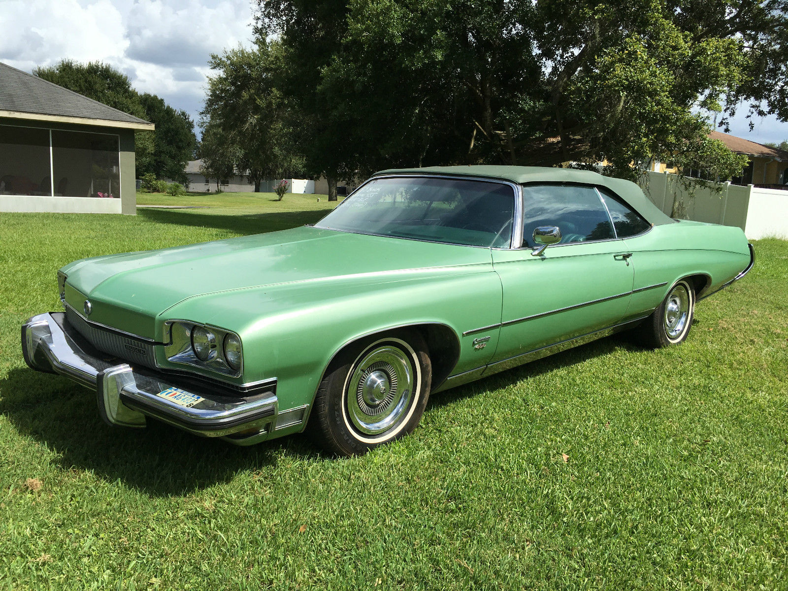 Buick Centurion Convertible For Sale on 1973 Buick Electra 225