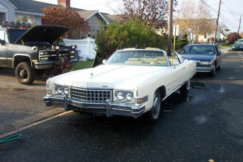 1973 Cadillac Eldorado Convertible for sale