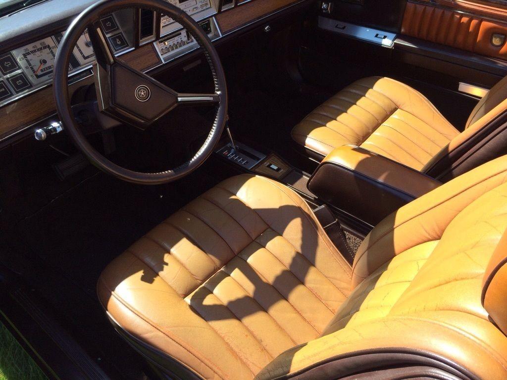 1982 Chrysler LeBaron Medallion Convertible