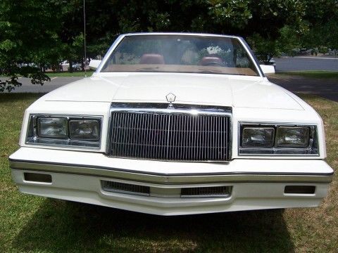 1984 Chrysler Lebaron Convertible for sale