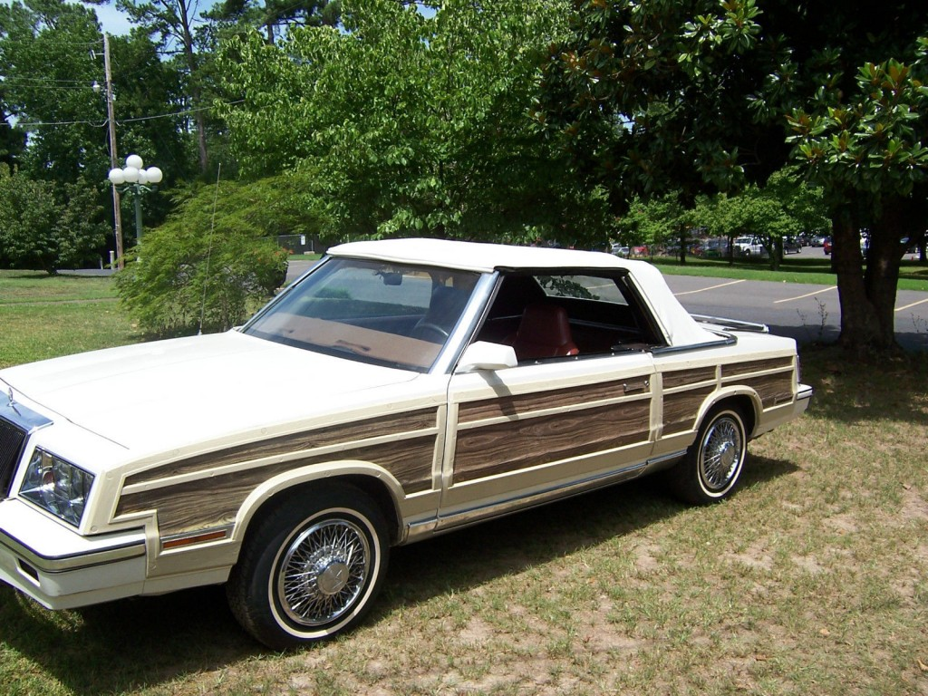 1984 Chrysler Lebaron Convertible