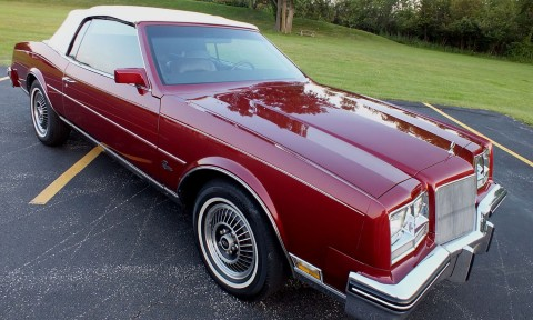 1985 Buick Riviera Special Edition Convertible for sale
