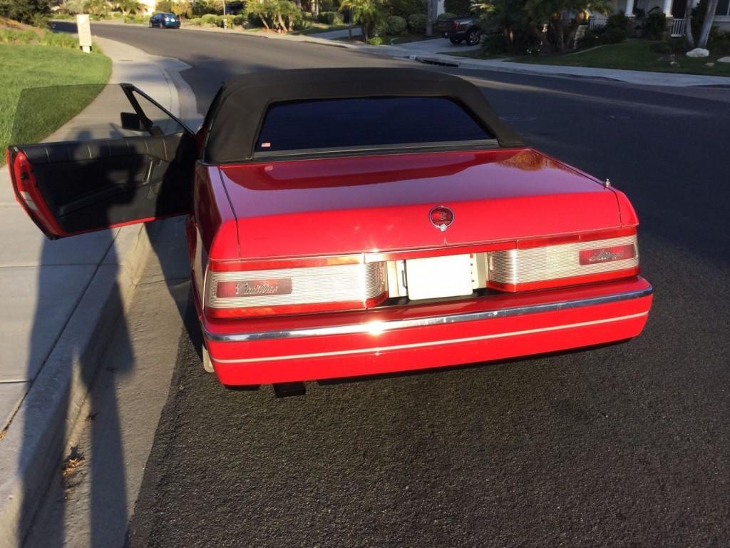 1991 Cadillac Allante Convertible