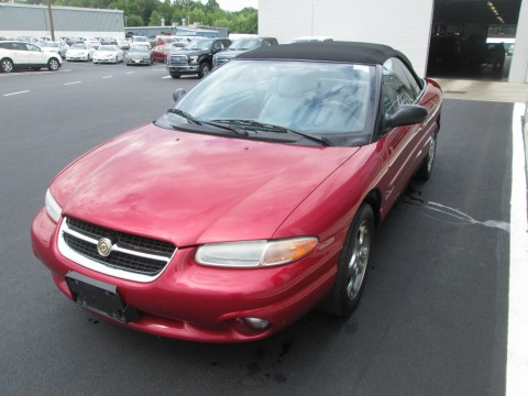 1996 Chrysler Sebring JXi Convertible for sale