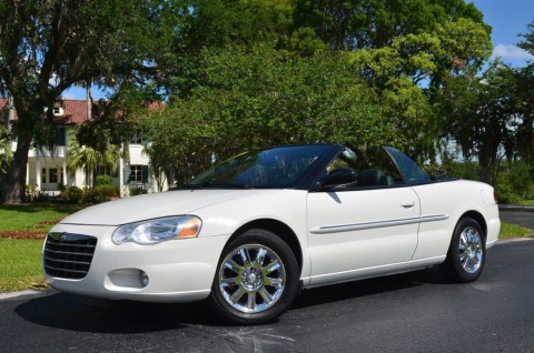 2004 Chrysler Sebring Limited Convertible for sale