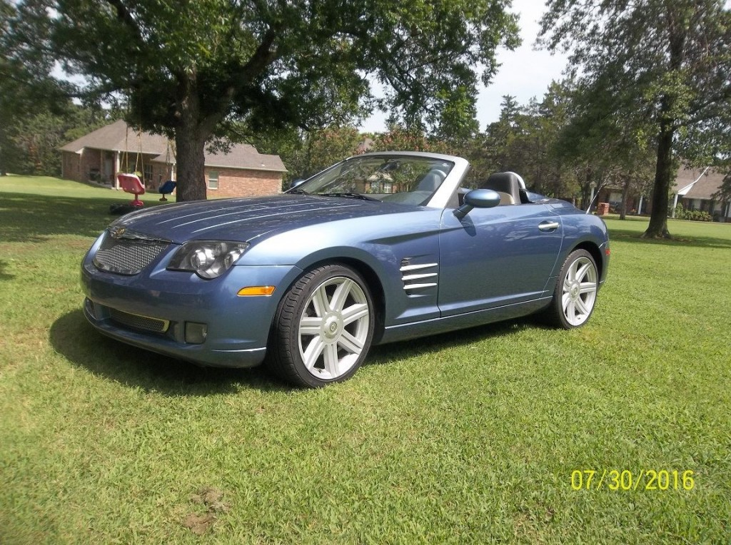 2005 chrysler crossfire convertible for sale. Black Bedroom Furniture Sets. Home Design Ideas