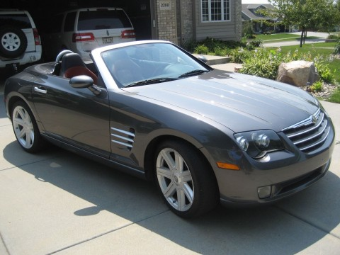 2005 Chrysler Crossfire Limited Convertible for sale